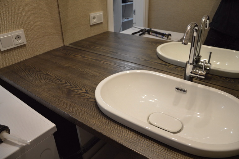 Столешницы для ванной комнаты деревянные элитные итальянские ванные комнаты