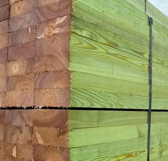 Доска обрезная из лиственницы