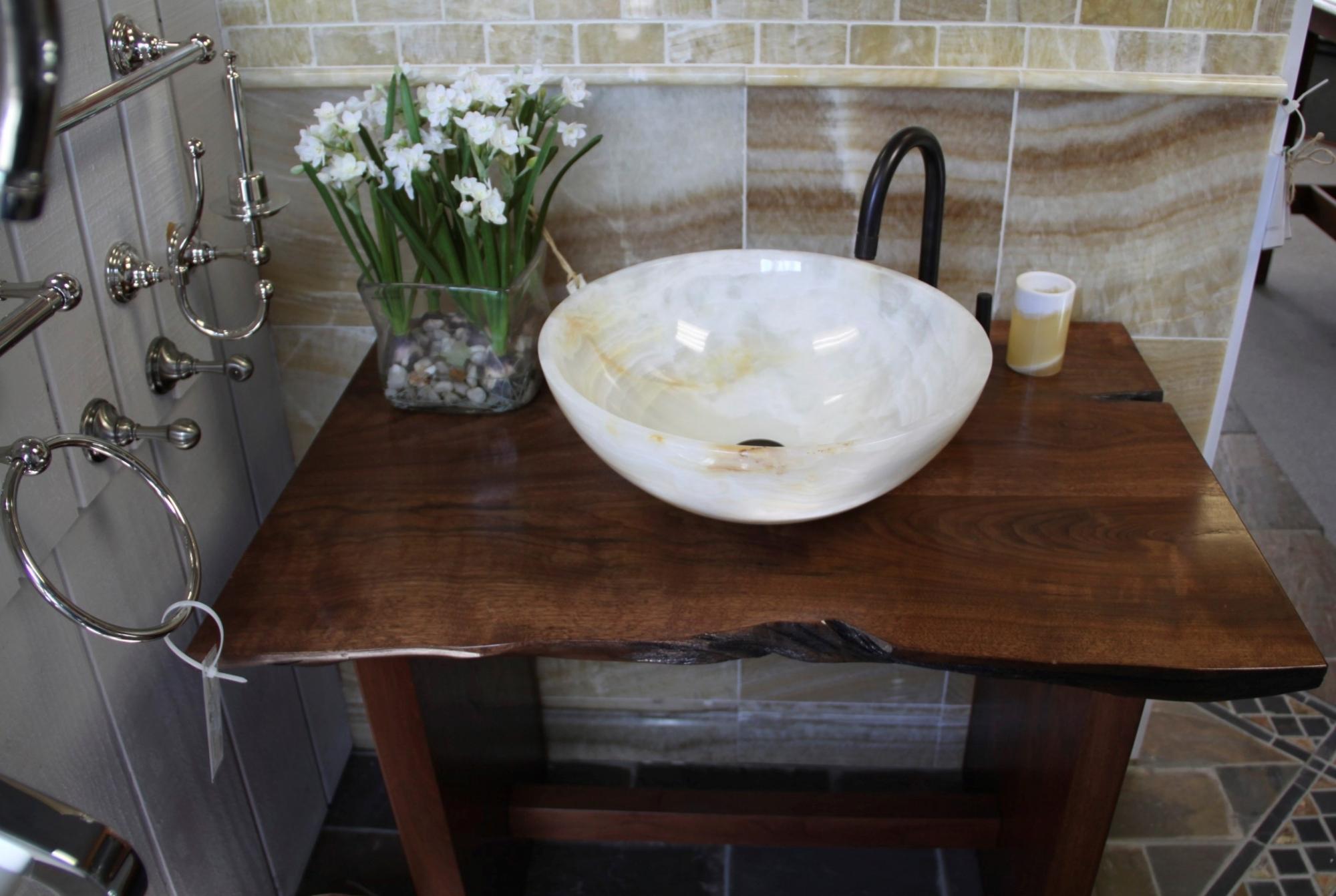 Столешница в ванную купить в томске Раковина из искусственного камня corian Краснопресненская