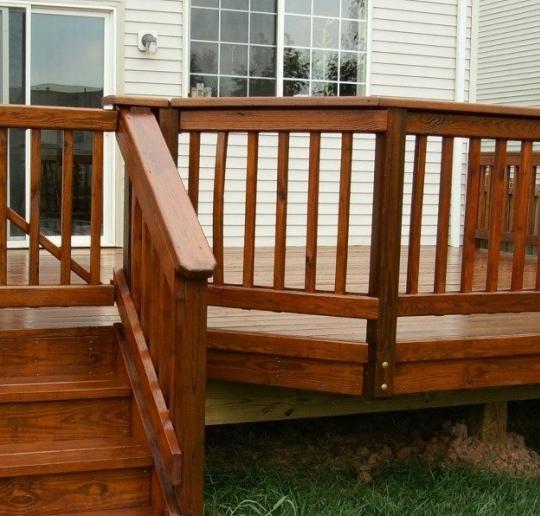 Ограждения для лестниц и террас