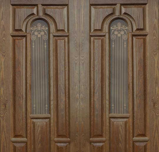 Двери из лиственницы