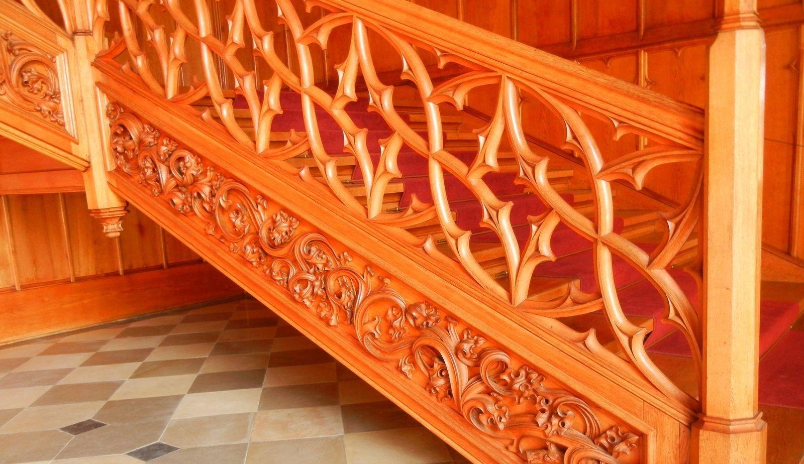 Деревянные перила для лестницы своими руками фото